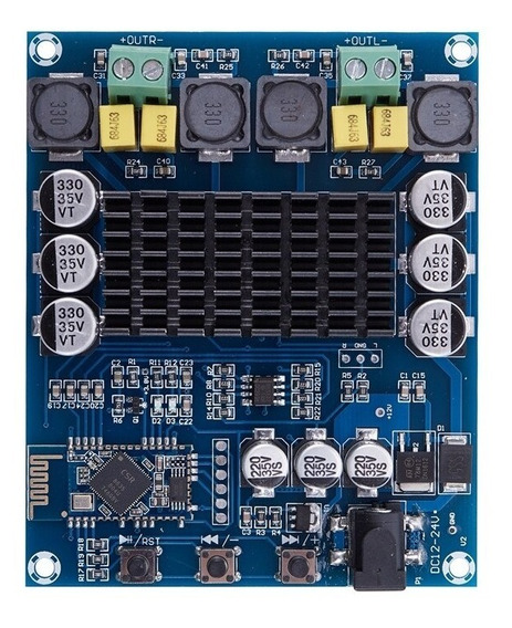 Placa Amplificador 2 X 120w Tpa3116d2 Bluetooth