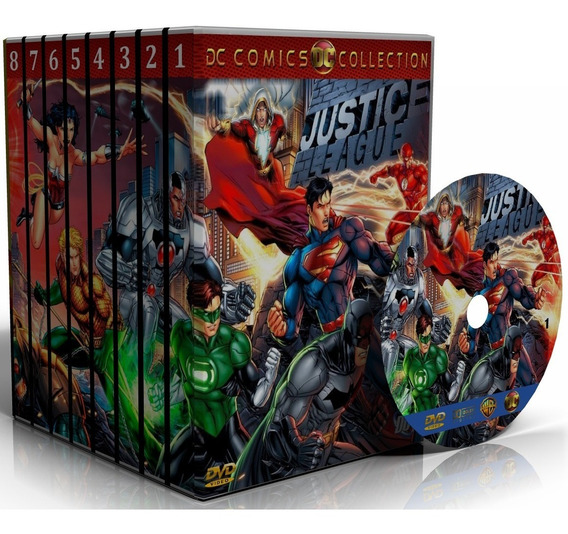 Dvd Dc Comics Filmes Collection - Todas As Animações Reunida