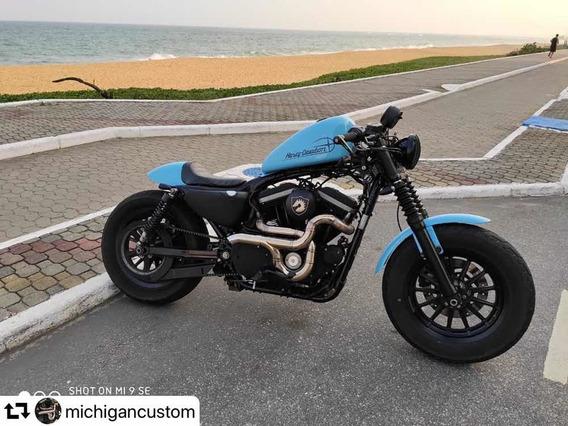 Escapamento Inox Harley Davidson 883/fortyeight