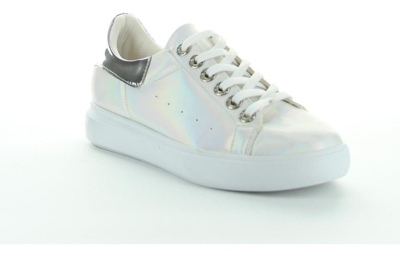 Tenis Been Class Mujer Blanco Textil 12659