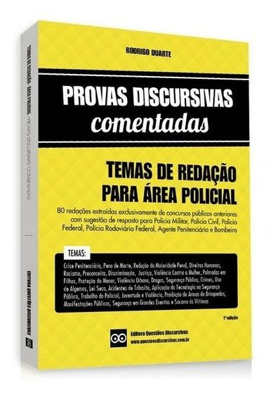 Livro - Temas De Redação Para Área Policial - Concursos