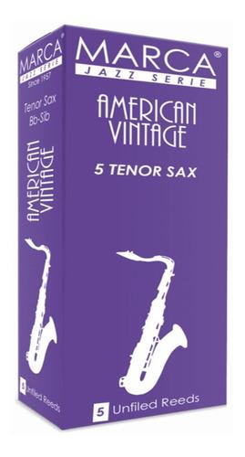 Imagen 1 de 3 de Marca Av625 Cañas Saxo Tenor  American Vintage N° 2,5  5 Un