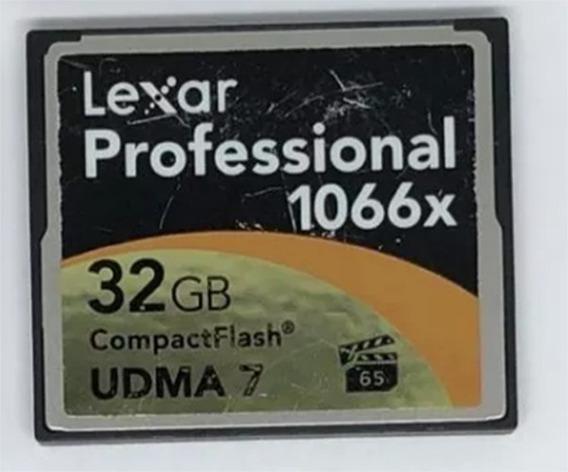 Cartão De Memória Lexar Professional 32 Gb 120 Mb/s