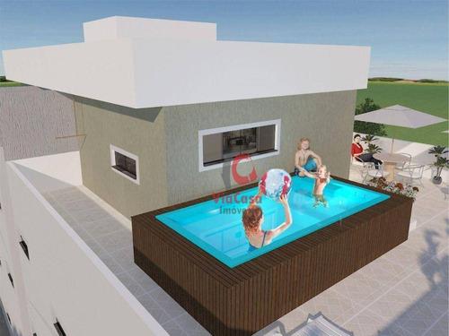 Imagem 1 de 28 de Cobertura Com 3 Dormitórios À Venda, 136 M² Por R$ 660.000,00 - Costa Azul - Rio Das Ostras/rj - Co0133