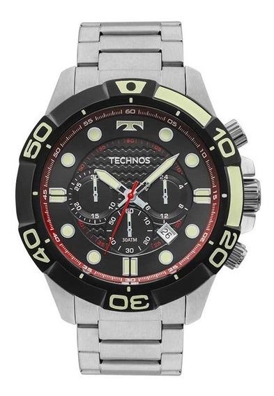 Relógio Technos Masculino Acqua Js25bp/0p Cronografo 300m