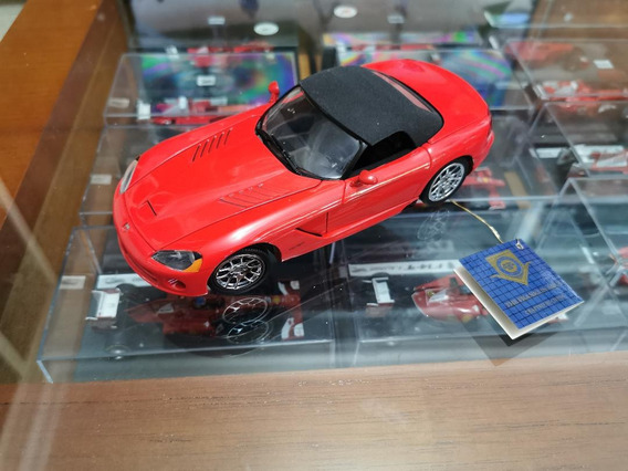 Miniatura Franklin Mint 1:24 2003 Dodge Viper Srt-10 C/caixa