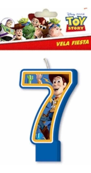 Vela Para Pastel Toy Story Nueva Fiesta