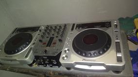 Cdj800mk2 Vom Leitor Da 2000nx+mixer Beringer Vmx 200