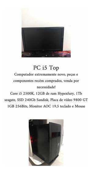 Computador Completo Core I5 12gb De Ram