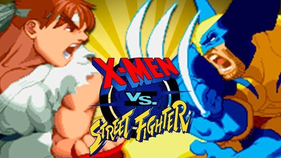 Jogo X-men Vs Street Fighter (arcade) Para Pc