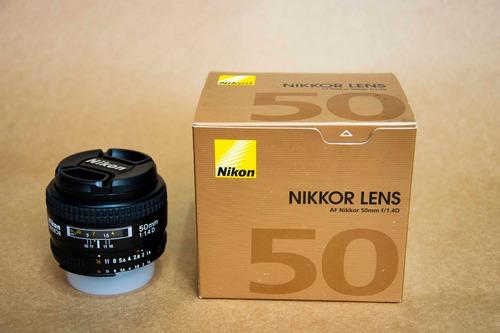 Lente Nikon 50mm F1.1:4 D Af  Serve Full Frames