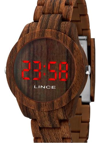 Relógio Lince Feminino Led Mdp4615p Vxnx C/ Garantia E Nf *