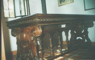 Escritorio (mesa Biblioteca)