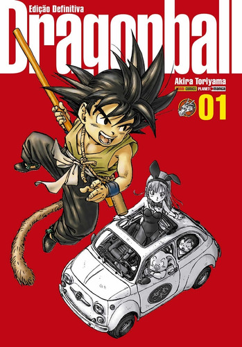 Dragon Ball Edição Definitiva 1 Capa Dura! Mangá Panini!
