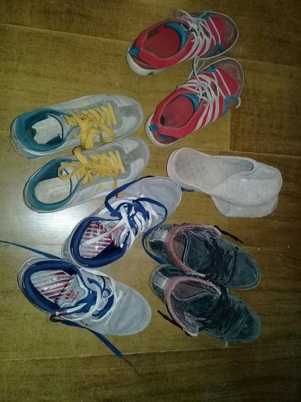 Lote Zapatillas adidas,puma,heyas,converse(precio Es × Todo)
