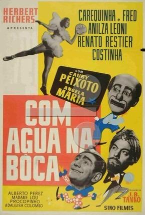 Dvd Filme Nacional - Com Água Na Boca (1956)   Mercado Livre