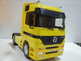 Mercedes Benz Esc 1:32 Actros Welly Maior Que Arpra
