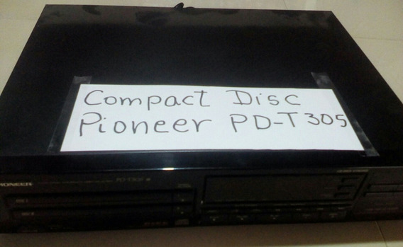 Compact Disk Estereo Pioneer Pd-t305 (#167)