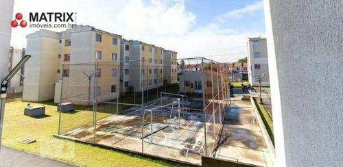 Imagem 1 de 4 de Apartamento Com 2 Dormitórios Para Alugar, 46 M² Por R$ 1.350,00/mês - Sítio Cercado - Curitiba/pr - Ap6771