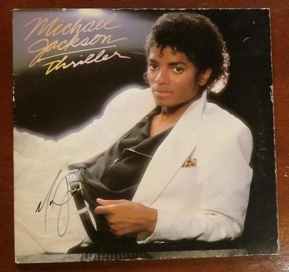 Lp Thriller Firmado Por Michael Jackson Con Certificado