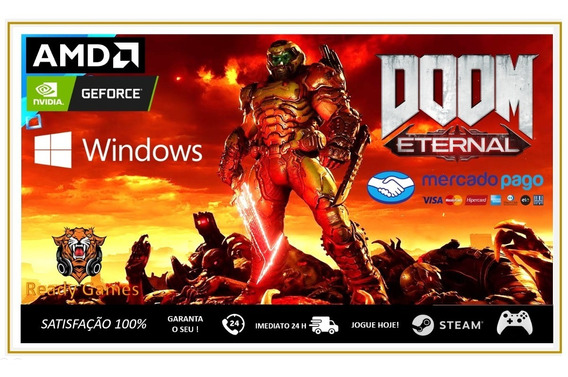 Doom Eternal Deluxe Envio Imediato - Pc Digital
