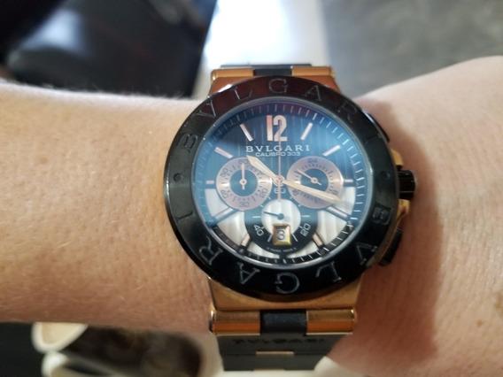 Reloj Bulgari Cronografo Cuarzo Tipo Diagono