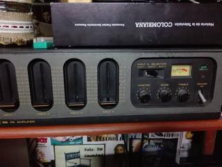 Amplificador Toa - Perifoneo - 45 Wts