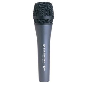 Microfone Sennheiser E835 - Original Com Selo, Nf E Garantia