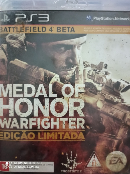Medal Of Honor Warfighter Ps3 Mídia Física, A Pronta Entrega