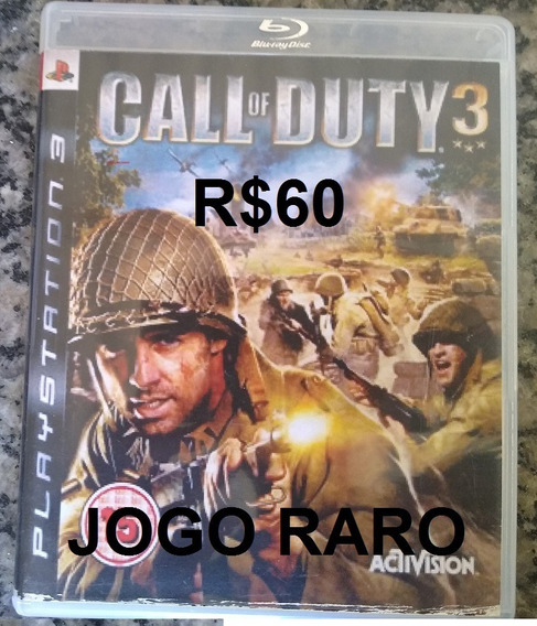 Call Of Duty 3 Ps3 (japonês)