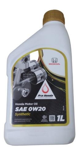 Oleo Motor Honda 0w20 Sintético Original