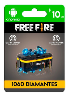 1060 Diamantes Free Fire + Regalo(leer Descripción) Envio Ya