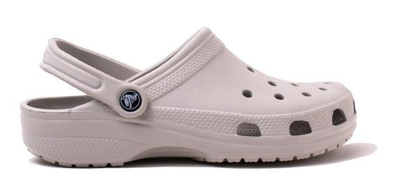 Crocs Originales Classic Gris Claro Unisex Hombre Mujer