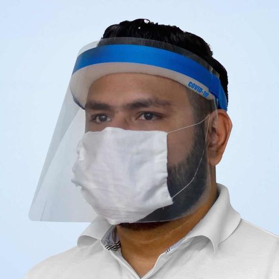 Careta De Plástico De Protección Antiparticulas