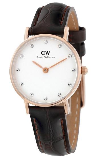 Reloj Daniel Wellington Classy Acero Piel Mujer 0902dw