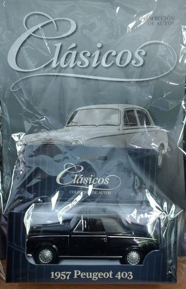 Colección Autos Clásicos - Peugeot 403 1957