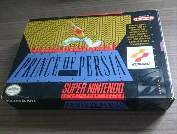 Prince Of Persia Cib Super Nintendo