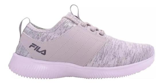 Fila Zapatillas Running Mujer Slide Plata - Blanco