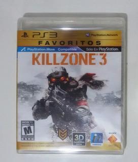 Killzone 3 Ps3 Sellado Audio Latino