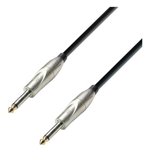 Cable Plug Mono A Plug Adam Hall K3ipp0600 6m Instrumento