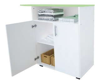 Mueble Planchador Organizador Con 2 Ptas 10072 - Luico