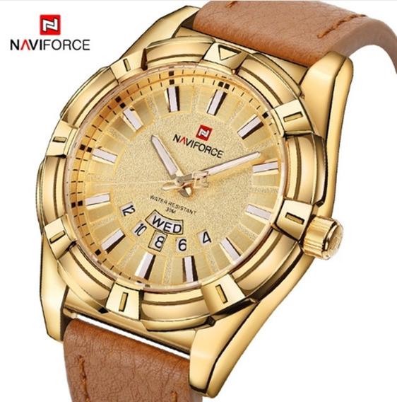 Relógio Masculino Naviforce 9118 Pulso Original Frete Grátis