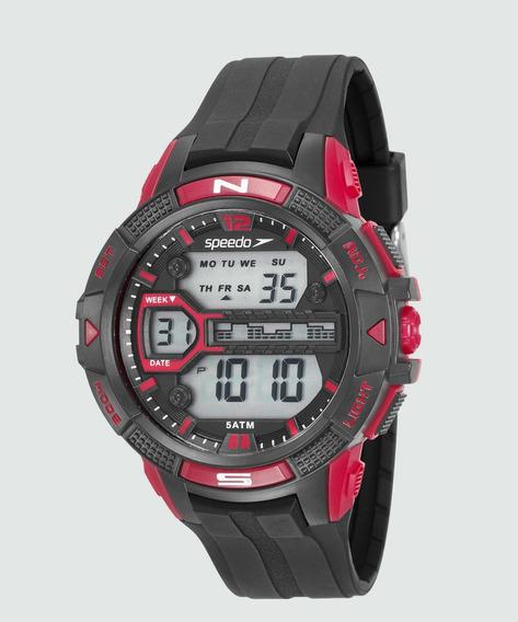 Relogio Masculino Preto Speedo Digital Esportivo 81111g0evnp