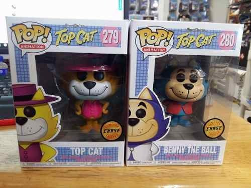 Funko Pop! - Top Cat - Don Gato - Benito - Chase 2 Piezas