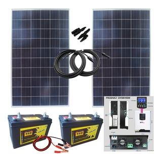 Casa Energía Solar Inversor Cargador Senoidal Casa2d270