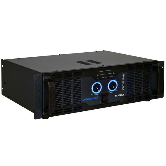 Amplificador Estéreo 2 Canais 900w 8 Ohms - Olp 8 1202 Oneal