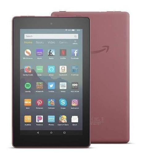 Tablet Amazon Fire 7 16gb Vermelho Wi-fi Com Alexa