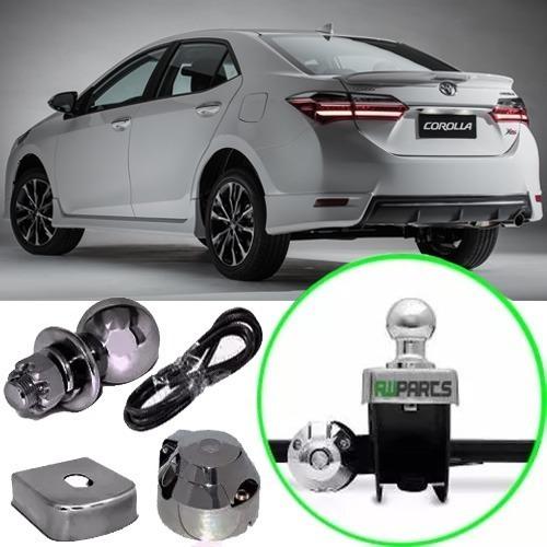 Engate Fixo Reboque Toyota Corolla Com Spoiler 2015 Até 2017