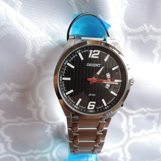 Relógio Orient Mbss1228 Masculino Original Visor Preto Belo