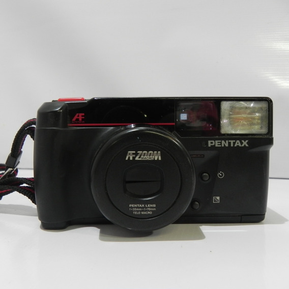 Câmera Fotográfica Pentax Iqz Zoom70 *no Estado*colecionador